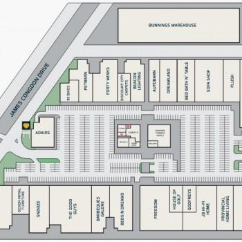 Plan of Mile End Homemaker Centre