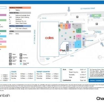 Plan of Moranbah Fair