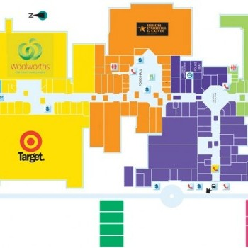 Plan of Morayfield Shopping Centre