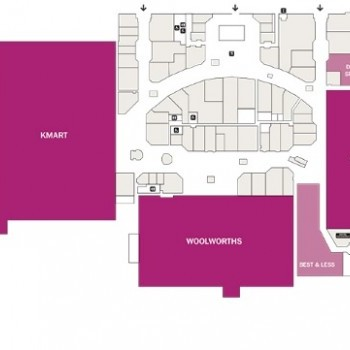 Plan of Mount Pleasant Shopping Centre