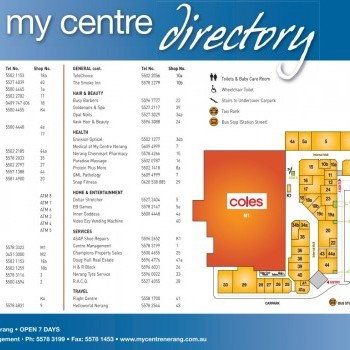 Plan of My Centre Nerang
