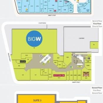 Plan of Neeta City Shopping Centre