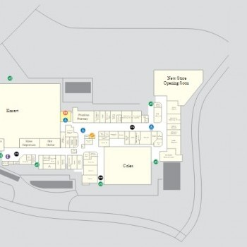 Plan of North Rocks Shopping Centre