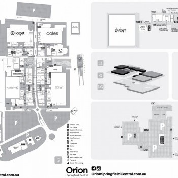 Plan of Orion Springfield Central