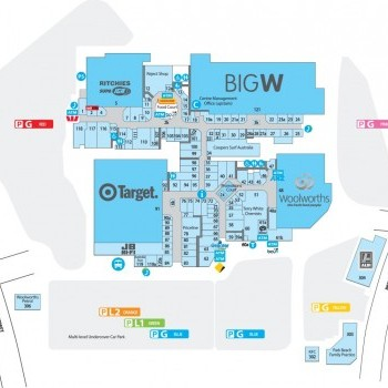 Plan of Park Beach Plaza