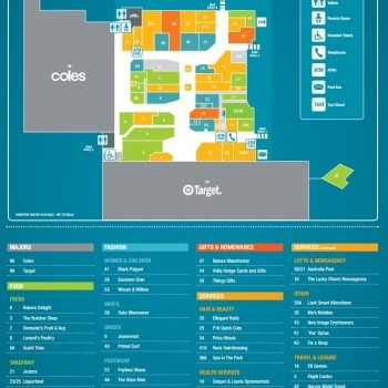 Plan of Park Centre