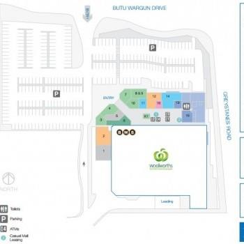 Plan of Pemulwuy Marketplace
