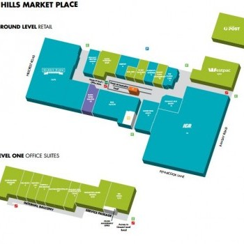 Plan of Pennant Hills Market Place