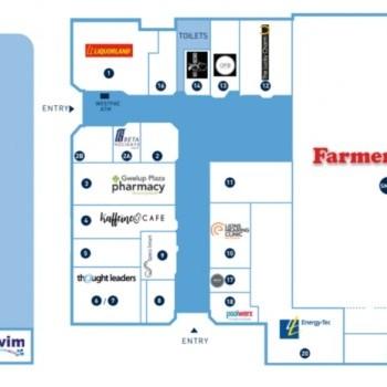 Plan of PrimeWest Gwelup