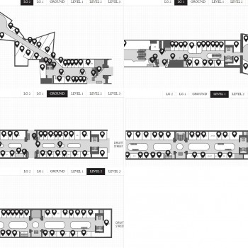 Plan of Queen Victoria Building QVB