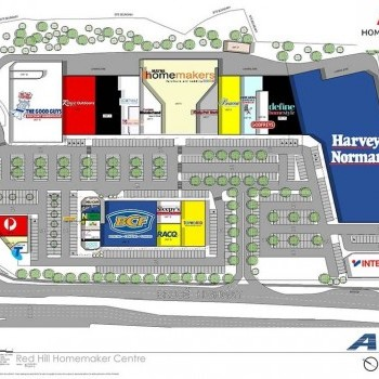 Plan of Red Hill Homemaker Centre