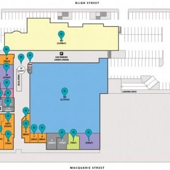 Plan of Riverdale Shopping Centre