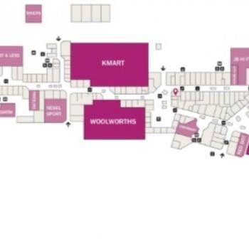 Plan of Rockingham Shopping Centre