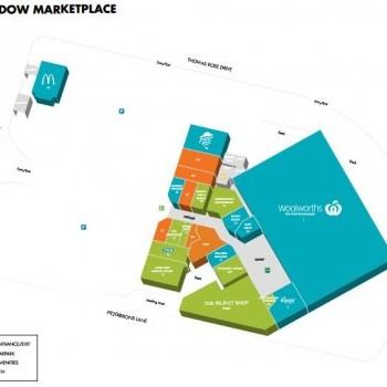 Plan of Rosemeadow Marketplace