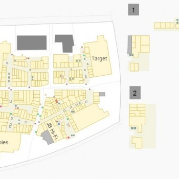 Plan of Rouse Hill Town Centre
