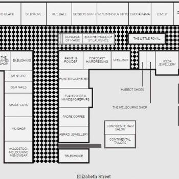 Plan of Royal Arcade