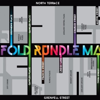 Plan of Rundle Mall