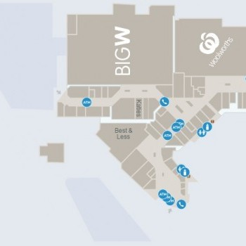 Plan of Settlement City Shopping Centre