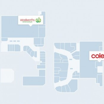 Plan of Stockland Cleveland Shopping Centre