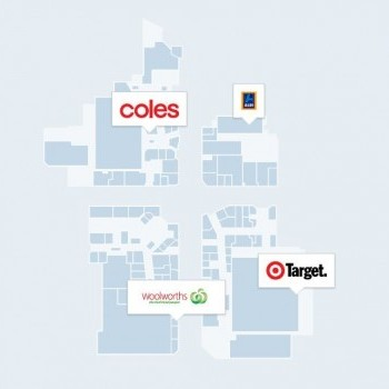 Plan of Stockland Point Cook Shopping Centre