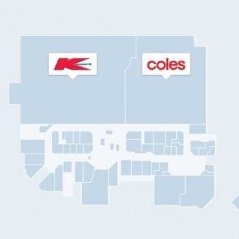 Plan of Stockland Traralgon Shopping Centre