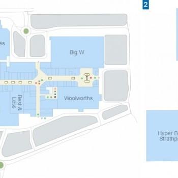 Plan of Strathpine Centre