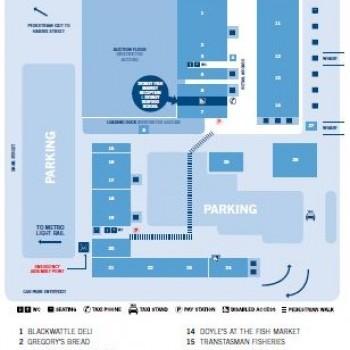 Plan of Sydney Fish Market