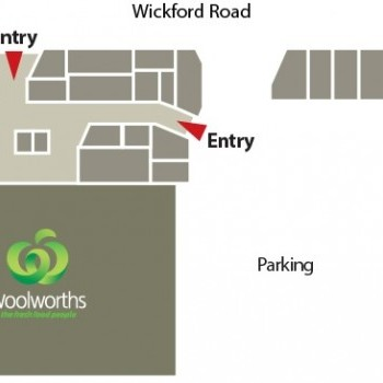 Plan of Tarneit Gardens Shopping Centre