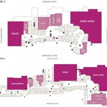 Plan of The Glen Shopping Centre