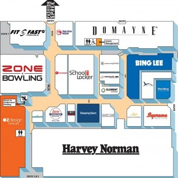Plan of The Grove Homemaker Centre