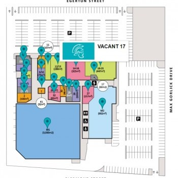 Plan of The Plaza @ Emerald