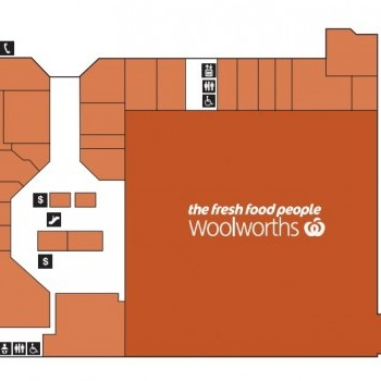 Plan of The Ridge Shopping Centre