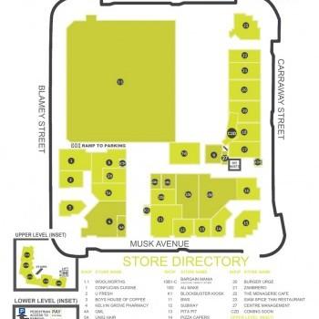 Plan of The Village Centre