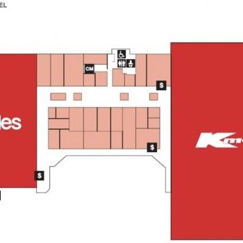 Plan of Toowoomba Plaza