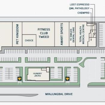 Plan of Tweed Hub