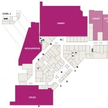 Plan of Warriewood Square