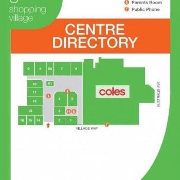 Plan of Wattle Grove Shopping Village