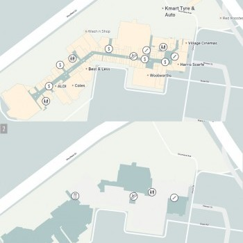 Plan of Westfield Airport West