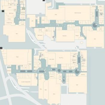 Plan of Westfield Belconnen