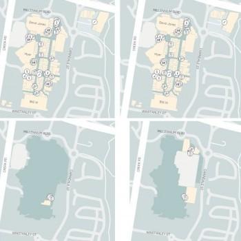 Plan of Westfield Carindale