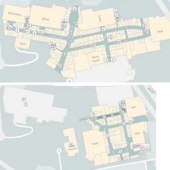 Plan of Westfield Fountain Gate