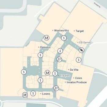Plan of Westfield Innaloo