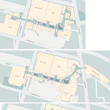 Plan of Westfield Parramatta