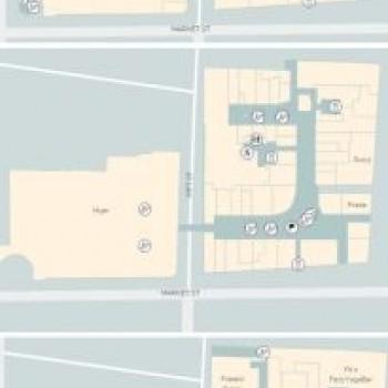 Plan of Westfield Sydney