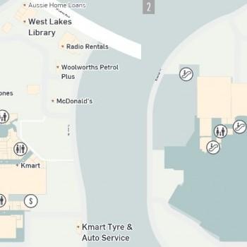 Plan of Westfield West Lakes