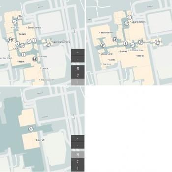 Plan of Westfield Woden