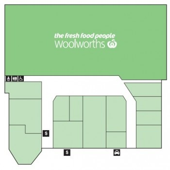 Plan of Westlands Plaza