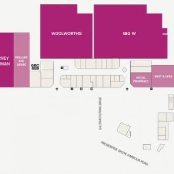 Plan of Whitsunday Plaza