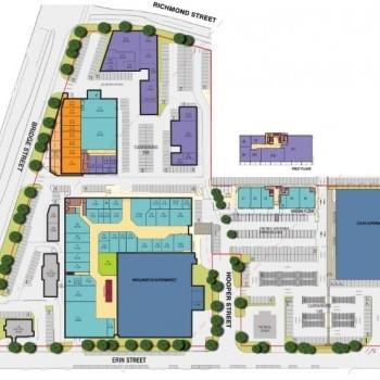 Plan of Wilsonton Shopping Centre