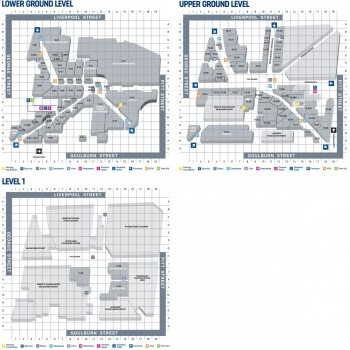 Plan of World Square Shopping Centre
